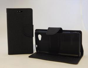Pouzdro Goospery Mercury Fancy Diary Sony Xperia Z1 Mini Compact D5503 černé