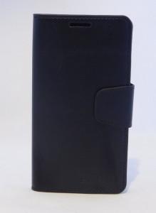 Pouzdro Sonata Goospery Leather Flip Samsung G900 G903 Galaxy S5 Černá