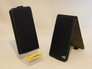 Pouzdro Forcell Slim Flip Flexi Lenovo Vibe X2 Černé