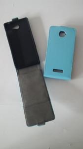 Pouzdro ForCell Slim Flip Flexi Sony Xperia M2 D2303 Světle Modré