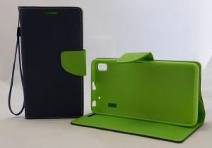 Pouzdro Fancy Case Lenovo A7000 Modré