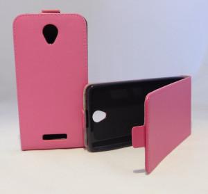Pouzdro Forcell Slim Flip 2 flexi Lenovo A5000 Růžové