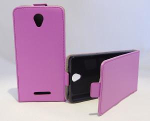 Pouzdro Forcell Slim Flip 2 flexi Lenovo A5000 Fialové