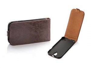 Pouzdro Toscana Elegance pro Apple  iPhone 5 iphone 5s Brown