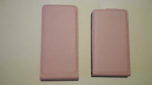 Pouzdro ForCell Slim Flip Nokia Lumia 520 růžové