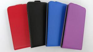 Pouzdro ForCell Slim Flip Flexi Huawei Ascend P8 Lite Červené