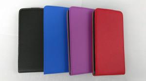 Pouzdro Forcell Slim Flip 2 flexi Wiko Ridge 4G Světle fialové