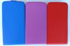Pouzdro Forcell Slim Flip Flexi Microsoft Lumia 640 XL Tmavě modré