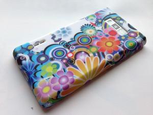 Pouzdro JELLY CASE Sony Xperia Z1 mini/compact D5503 bílé s motivem