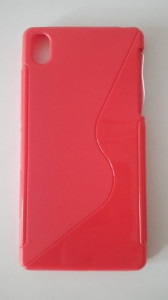 Silikonové pouzdro S-Case pro Nokia X Dual červené