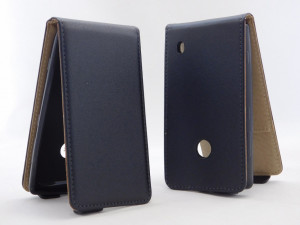 Pouzdro ForCell Slim Flip Nokia Lumia 520 černé