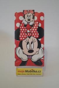 Pouzdro Slim Flip Case 2 Sony Xperia M C1905/C2005 Minny Mouse