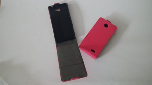 Pouzdro ForCell Slim Flip 2 Flexi Samsung S7560/S7562 Galaxy Trend a S Duos Růžové