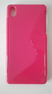 Silikonové pouzdro S-Case pro Sony Xperia Z1 C6903 růžové