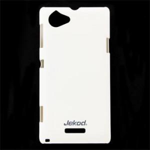 JEKOD Super Cool pouzdro White pro Sony Xperia J ST26i