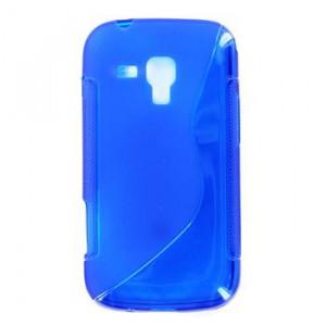 Pouzdro S-Line Case pro Samsung S6310 Galaxy Young modrý silikonové pouzdro