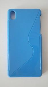Silikonové pouzdro S-Case pro Sony Xperia Z1 Mini Compact Světle D5503 modré