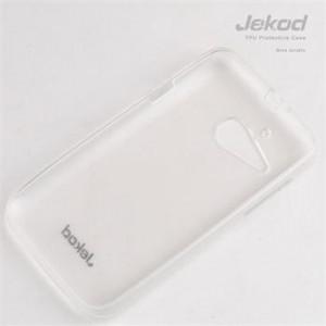 JEKOD TPU Ochranné Pouzdro White pro Alcatel 5036D Pop C5
