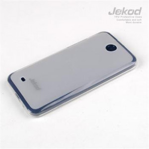 JEKOD TPU Ochranné Pouzdro White pro HTC Desire 300
