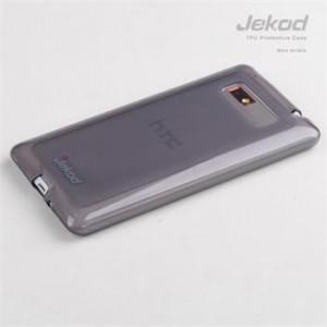 JEKOD TPU Ochranné Pouzdro Black pro HTC Desire 600