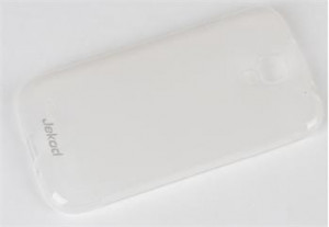 JEKOD TPU Ochranné Pouzdro White pro Samsung i9500, i9505 Galaxy S4