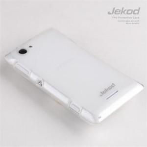 JEKOD TPU Ochranné Pouzdro White pro Sony C2105 Xperia L