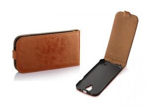 Pouzdro Toscana Elegance pro Samsung S7560/S7562 Coral