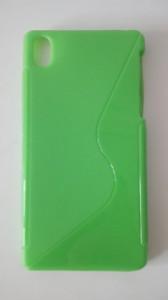 Silikonové pouzdro S-Case pro Sony Xperia Z1 Mini Compact D5503 zelené