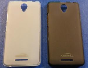 Pouzdro Kisswill silikonové Lenovo A5000 černé
