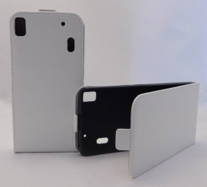 Pouzdro Forcell Slim Flip 2 flexi Lenovo A7000 K3 Note Bílé