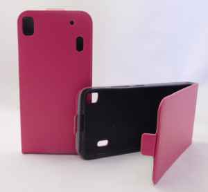 Pouzdro Forcell Slim Flip 2 flexi Lenovo A7000 K3 Note Růžové