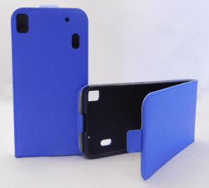 Pouzdro Forcell Slim Flip 2 flexi Lenovo A7000 K3 Note Tmavě Modré
