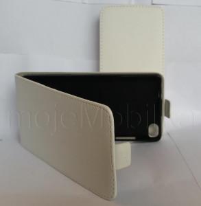 Pouzdro ForCell Slim 2 Flip Flexi Acer Z630 Bílé