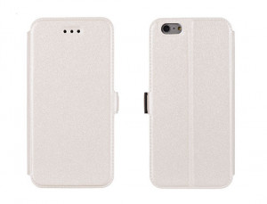 Pouzdro Book Flexi Pocket Iphone 6 5,5 Bílé