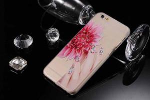 Pouzdro Clear Diamond Iphone 5 Růžové