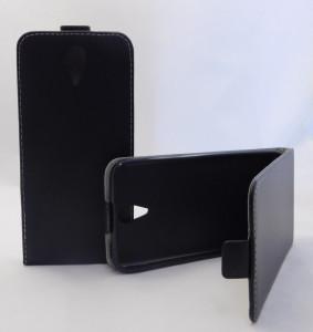 Pouzdro ForCell Slim Flip Flexi HTC Desire 620 černé