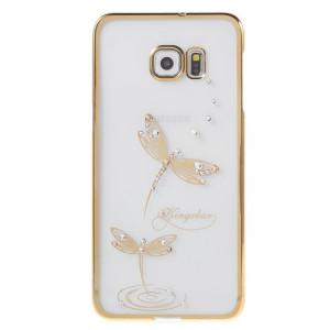 Pouzdro Diamonds TPU LG K8 Motýl