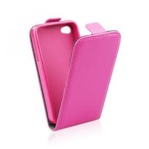 Pouzdro ForCell Slim Flip Flexi Samsung I9060 Galaxy Grand Neo růžové