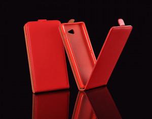 Pouzdro ForCell Slim Flip 2 Flexi Sony Xperia E4 E2105 červené