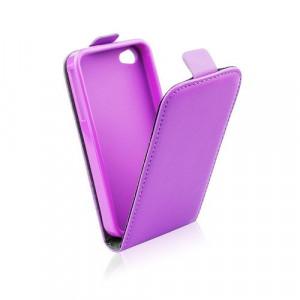 Pouzdro Forcell Slim Flip 2 flexi Nokia Lumia 730 735 Světle fialové