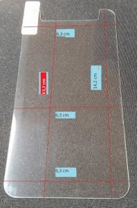 Premium ochranné tvrzené sklo univerzální 5,3