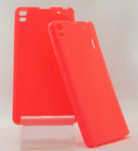 Pouzdro Jelly Case pro Lenovo A7000 Růžové