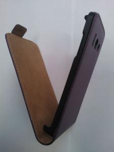 Pouzdro ForCell Slim Flip HTC Desire 310 Fialové