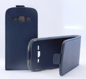 Pouzdro Forcell Slim Flip Flexi Samsung G350/G3500 Galaxy Core Plus Černé