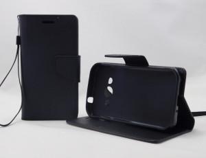 Pouzdro Fancy Case Samsung Galaxy Xcover 3 G388 Černé