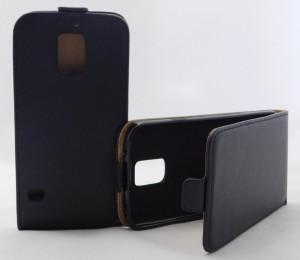 Pouzdro Forcell Slim Flip Flexi Samsung G900 G903 Galaxy S5 Černé