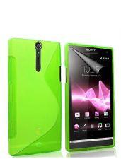 Silikonové pouzdro S-Line Case pro LG L65 / L70 Zelené