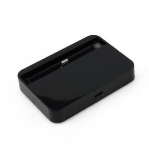 Dokovací stanice pro Iphone 5/5S/5C/6/6 Plus Černá
