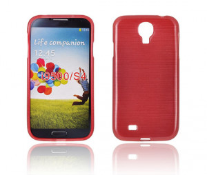 Pouzdro JELLY CASE Plum HTC Desire 500 Červené