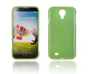 Pouzdro JELLY CASE Plum Samsung I9505 Galaxy S4 Zelené